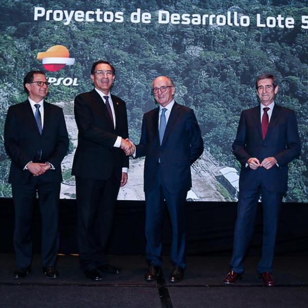 Repsol inaugura la producción de hidrocarburos del Lote 57