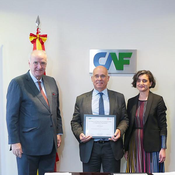 El programa ICEX Impact+ recibe el reconocimiento de CAF