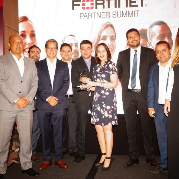 Telefónica del Perú, Partner 2018 de la tecnológica Fortinet