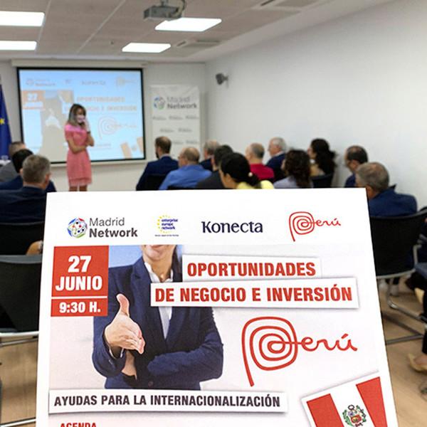 Madrid Network analiza oportunidades de inversión en Perú