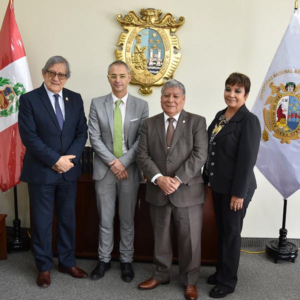 La Universidad de Salamanca e instituciones peruanas crean la Cátedra Perú