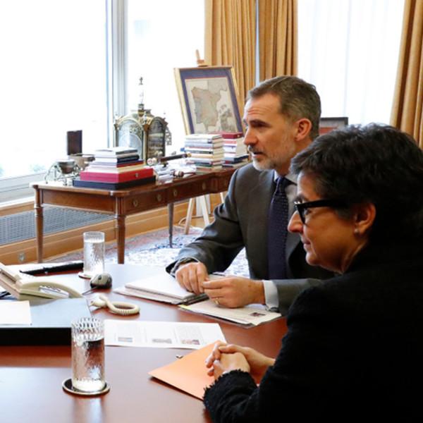 El embajador en Perú informa sobre la repatriación de españoles