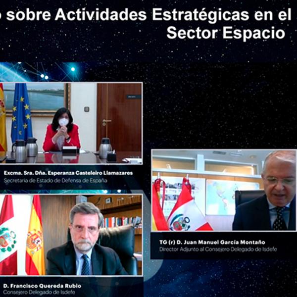 Seminario conjunto Perú-España sobre el Sector Espacio