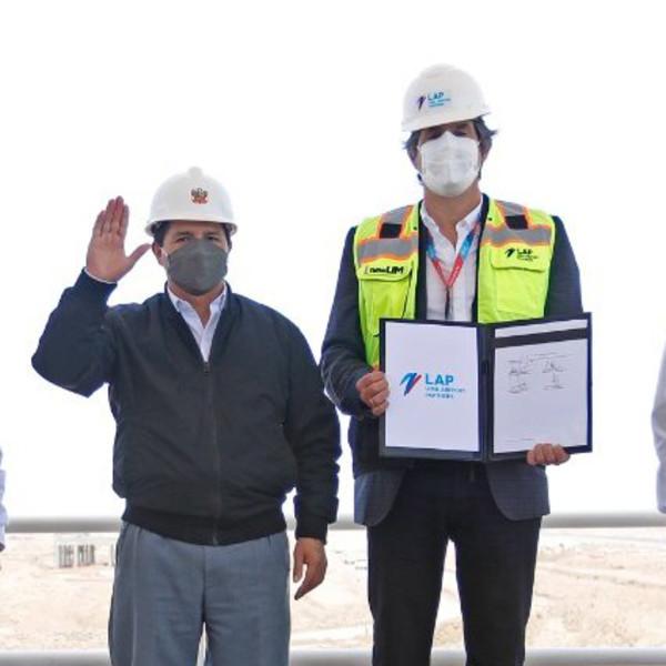 Sacyr se adjudica la nueva terminal de pasajeros del Aeropuerto de Lima