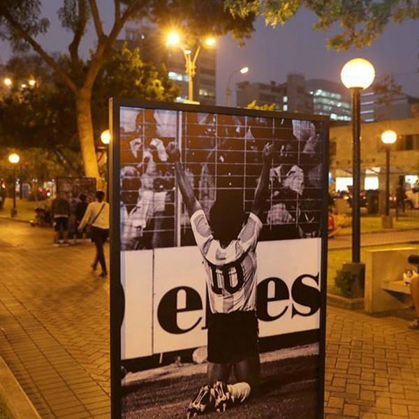 Efe, Movistar y BBVA organizan en Lima una exposición sobre el Mundial