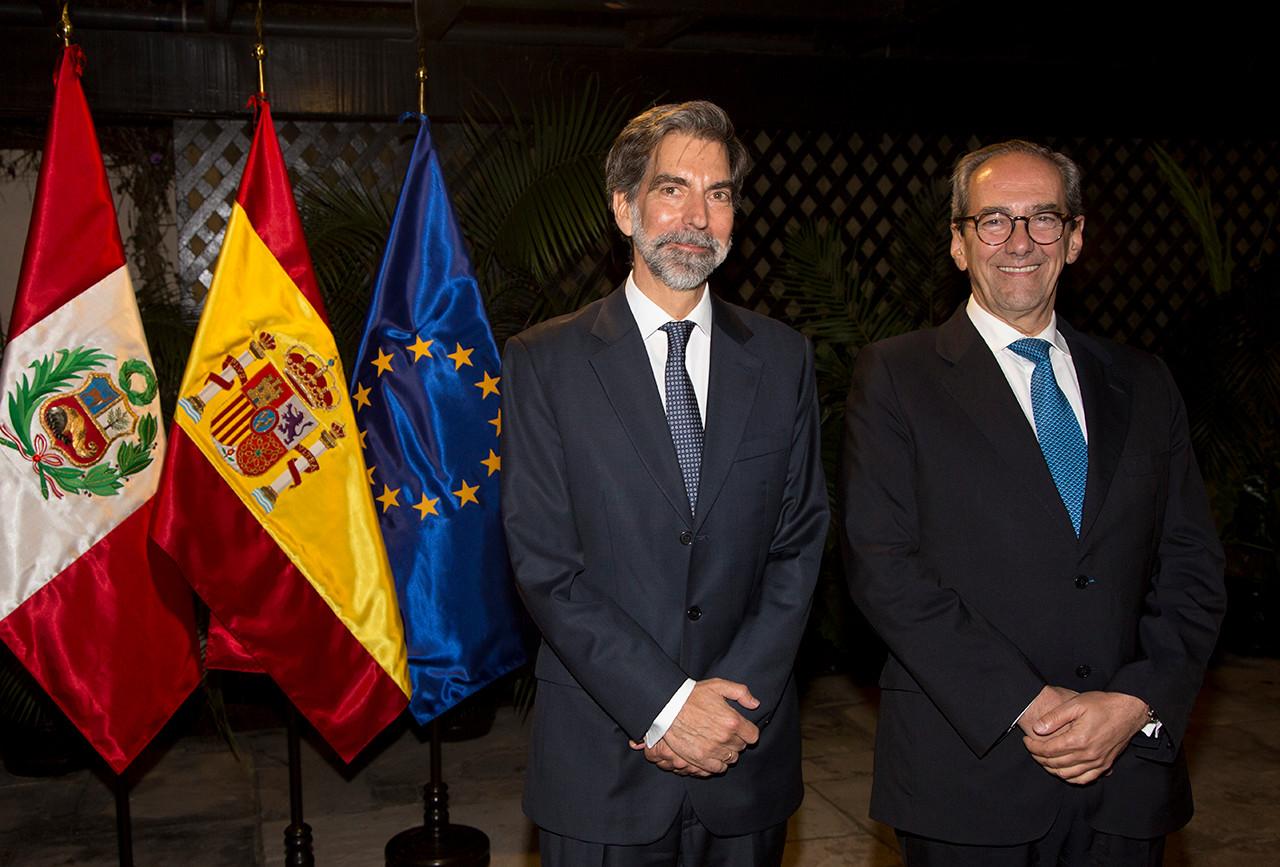 Presentación oficial de la Fundación Consejo España-Perú