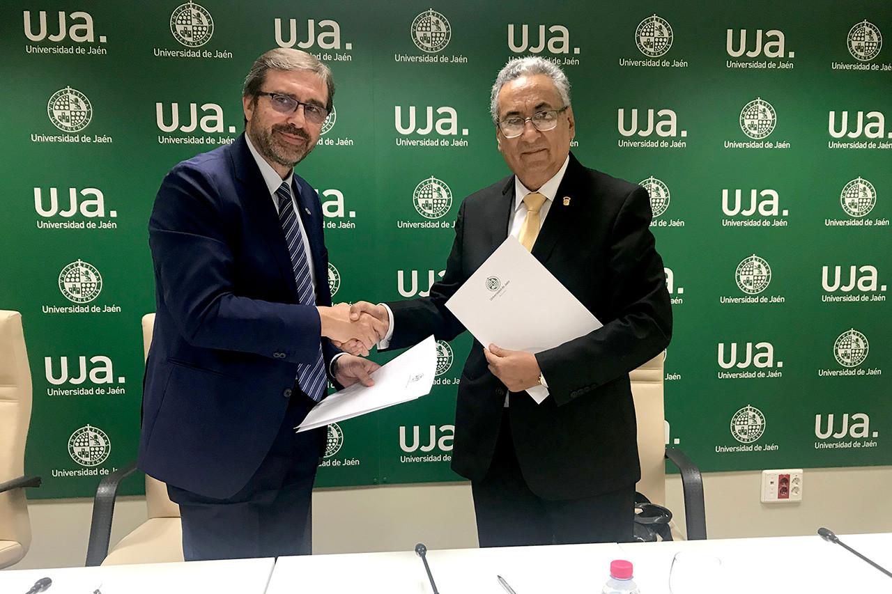 Convenio entre la Universidad de Jaén y el Poder Judicial del Perú