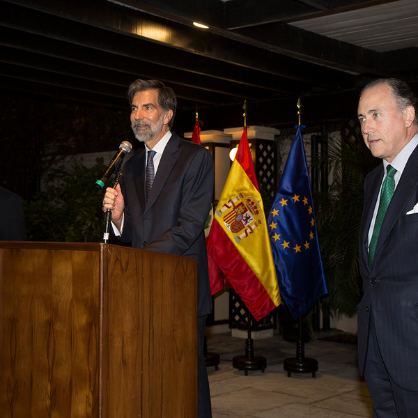Presentación de la Fundación Consejo España-Perú en Lima