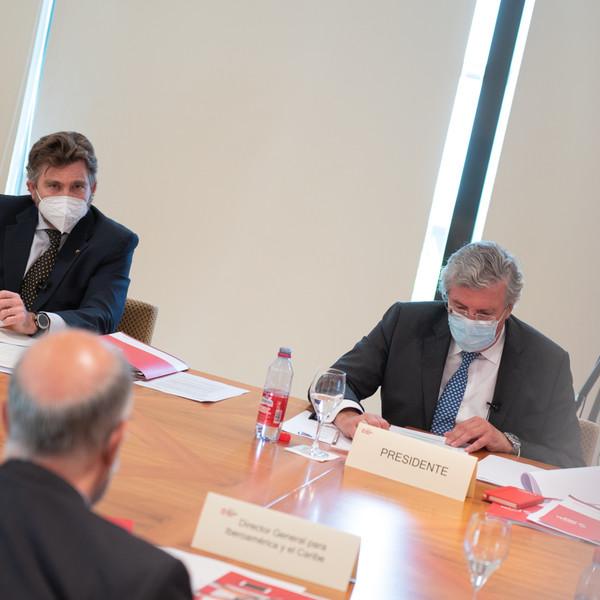 Primera reunión del Patronato pospandemia